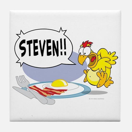 Steven the Egg Tile Coaster