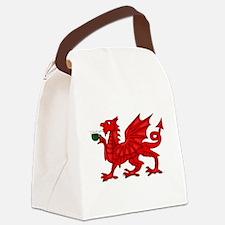 Dragon Tea Canvas Lunch Bag