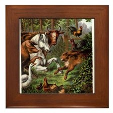 Print from Oft Told Tales Framed Tile