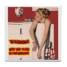 Menopause Humor Tile Coaster