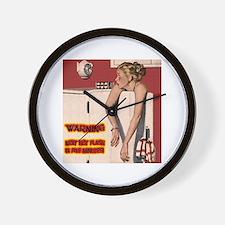 Menopause Humor Wall Clock