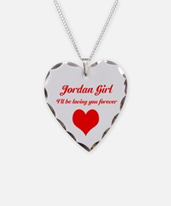 """Jordan Girl"" Necklace"