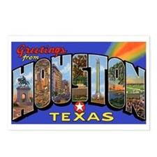 Houston Texas Greetings Postcards (Package of 8)
