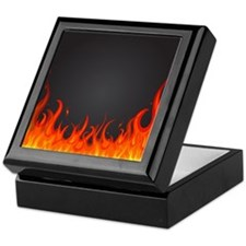 Flames Keepsake Box