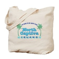 North Captiva Happy Place - Tote Bag