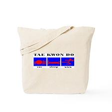 TKD Eat Sleep Kick Tote Bag