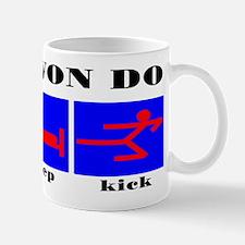 TKD Eat Sleep Kick Mug