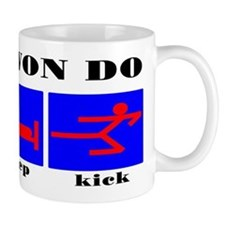 TKD Eat Sleep Kick Mug