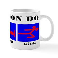TKD Eat Sleep Kick Small Mug