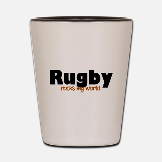 'Rugby' Shot Glass