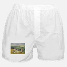 Geese on the Hilltop Boxer Shorts