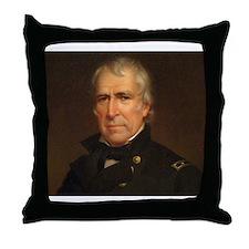 Zachary Taylor Throw Pillow