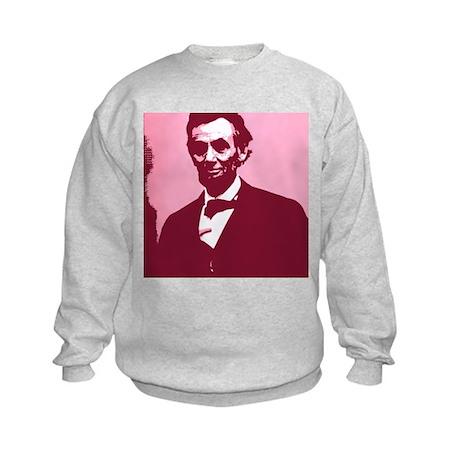 Abraham Lincoln Kids Sweatshirt