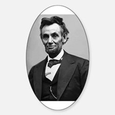 Abraham Lincoln Sticker (Oval)