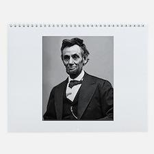 Abraham Lincoln Wall Calendar