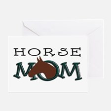Bay Horse Mom Mother's Day Greeting Card