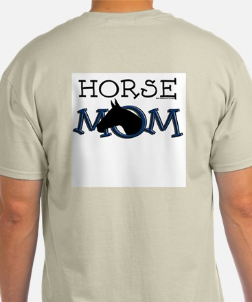Black horse mom Mother's Day T-Shirt