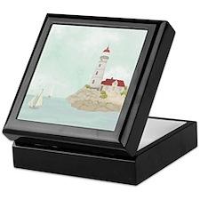 Beautiful Lighthouse Keepsake Box