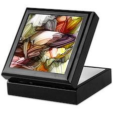 Colorful Abstract Keepsake Box