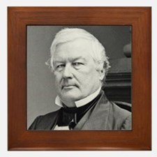 Millard Fillmore Framed Tile
