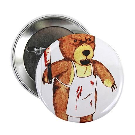 """Butcher Bear 2.25"""" Button"""