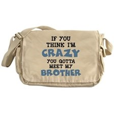 Crazy Brother Messenger Bag