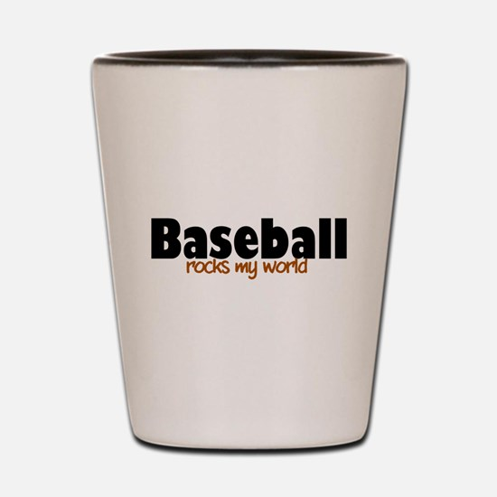 'Baseball' Shot Glass