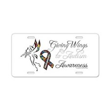 Autism Fairy Aluminum License Plate