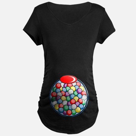 Halloween Gumball Machine Maternity T-Shirt