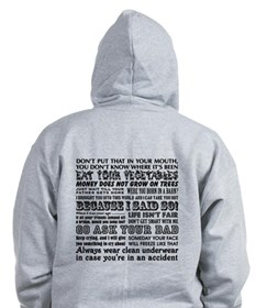 Funny Mother's Day Zip Hoodie