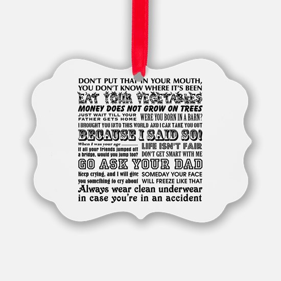 Funny Mother's Day Ornament
