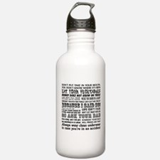 Funny Mother's Day Water Bottle