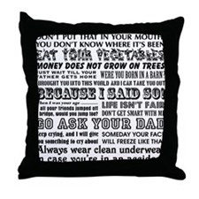 Funny Mother's Day Throw Pillow