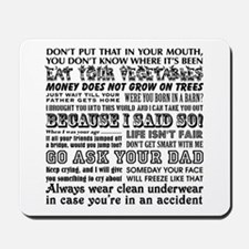 Funny Mother's Day Mousepad