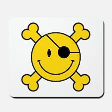 Pirate Smiley Mousepad