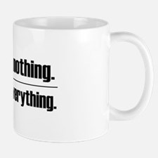 Assume Nothing Small Small Mug