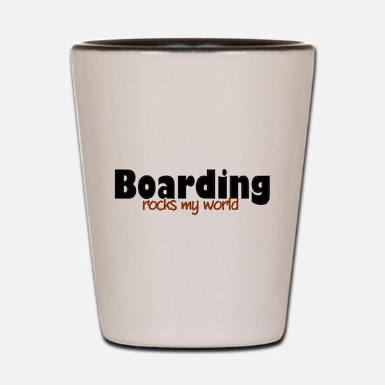 'Boarding' Shot Glass