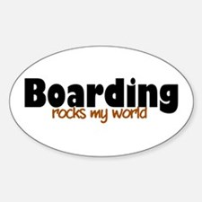 'Boarding' Decal