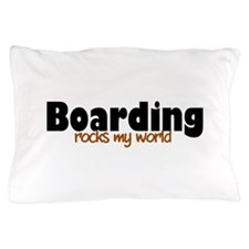 'Boarding' Pillow Case