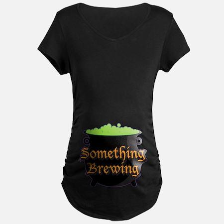 Halloween Something Brewing Maternity T-Shirt