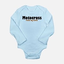 'Motocross' Long Sleeve Infant Bodysuit
