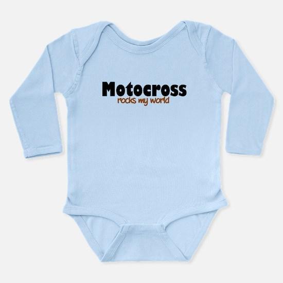 'Motocross' Long Sleeve Infant Bodysuit