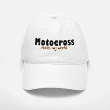 'Motocross' Baseball Baseball Cap