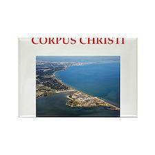 corpus christi Rectangle Magnet