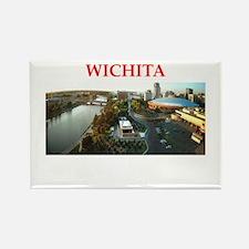 wichita Rectangle Magnet