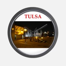 tulsa Wall Clock