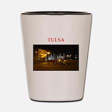 tulsa Shot Glass