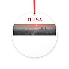 tulsa Ornament (Round)