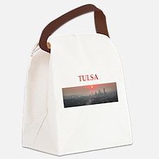 tulsa Canvas Lunch Bag