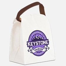 Keystone Purple Canvas Lunch Bag